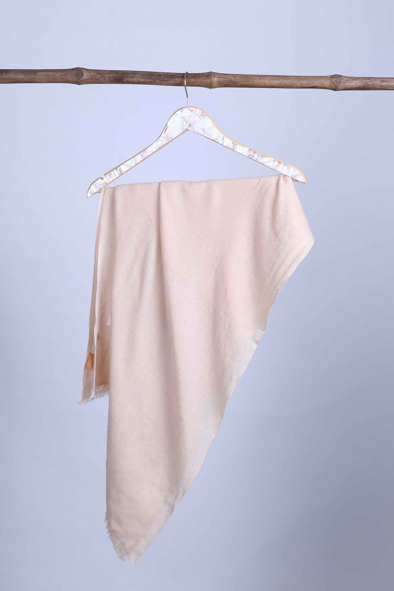 Timeless Woven Cashmere Shawl Solid - 1732A #109LL
